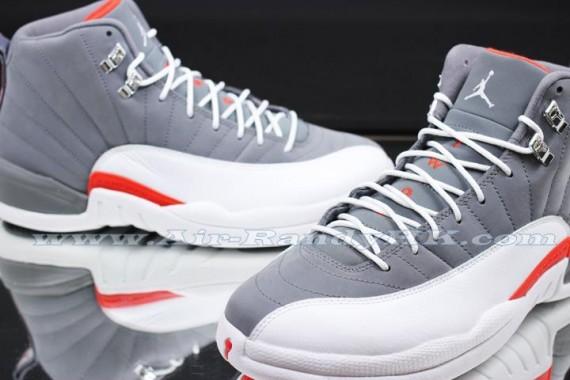 pretty nice f6aa2 09dd5 Air Jordan 12 Retro – Cool Grey – Team Orange – White