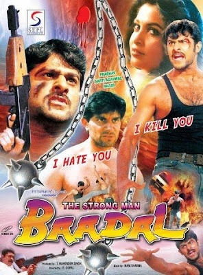Poster Of The Strong Man Badal (2006) In hindi dubbed Dual Audio 300MB Compressed Small Size Pc Movie Free Download Only At worldfree4u.com