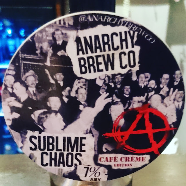 Northumberland Craft Beer Review: Sublime Chaos from Anarchy Brew Co. real ale pump clip