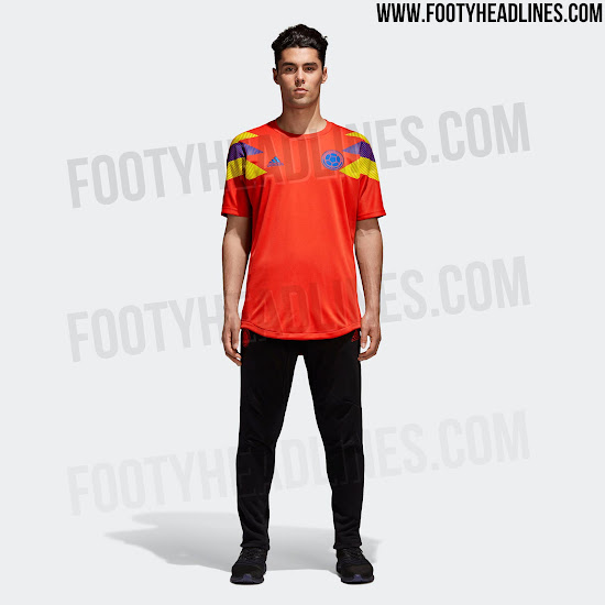 bc2e6575c30 Do you like the special-edition orange Adidas Colombia 2018 World Cup  jersey? Let us know in the comments below.