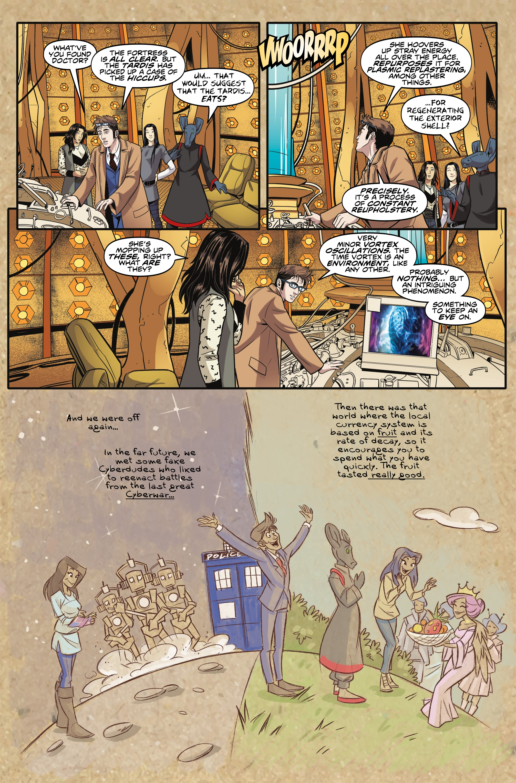 Read online Doctor Who: The Tenth Doctor Year Three comic -  Issue #6 - 14
