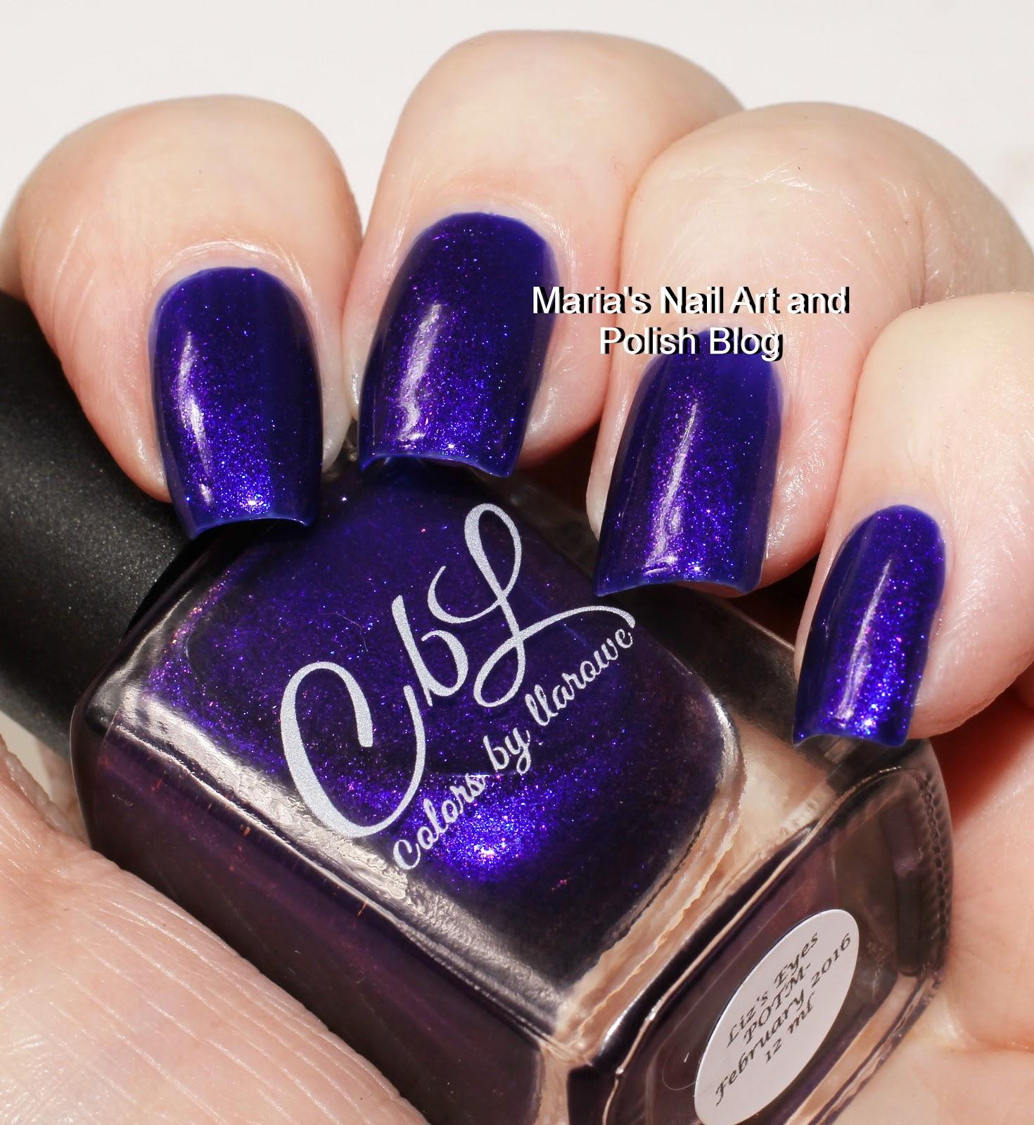 Marias Nail Art And Polish Blog: Colors By Llarowe Liz's