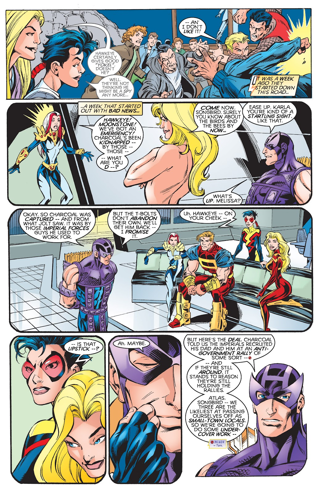Read online Hawkeye & The Thunderbolts comic -  Issue # TPB 1 (Part 3) - 8