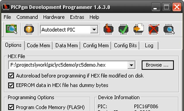 برنامج PICPgm