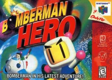 Image result for bomberman hero cover blogspot