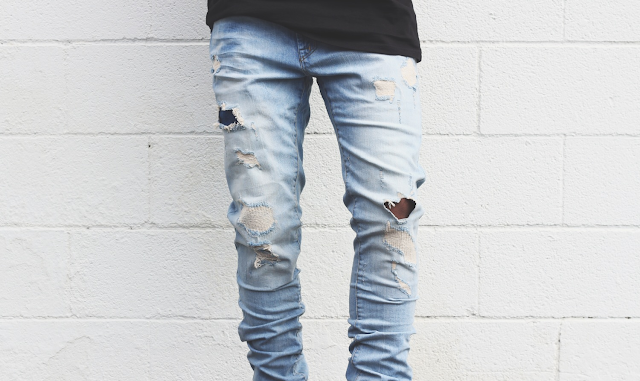 Mens Summer Fashion Trends 2016 distressed ripped teared Jeans - Bearded Couture