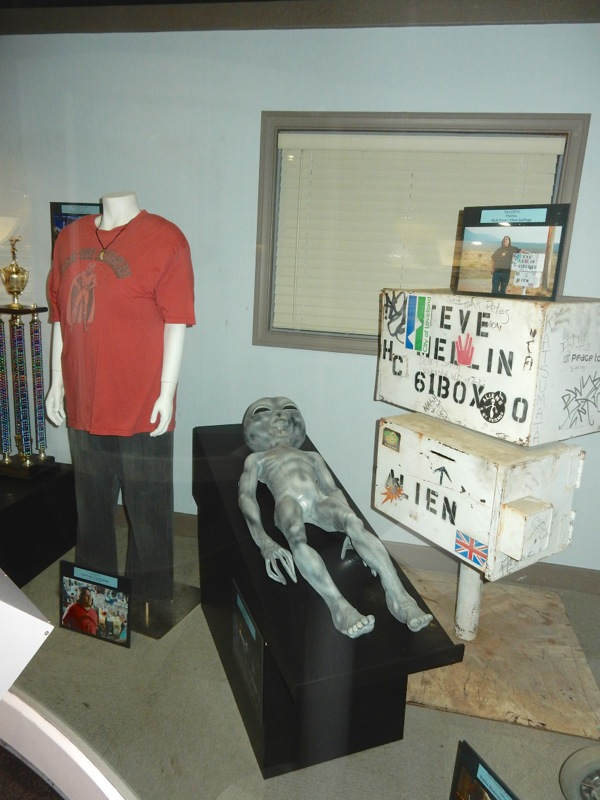 Paul movie costume prop exhibit
