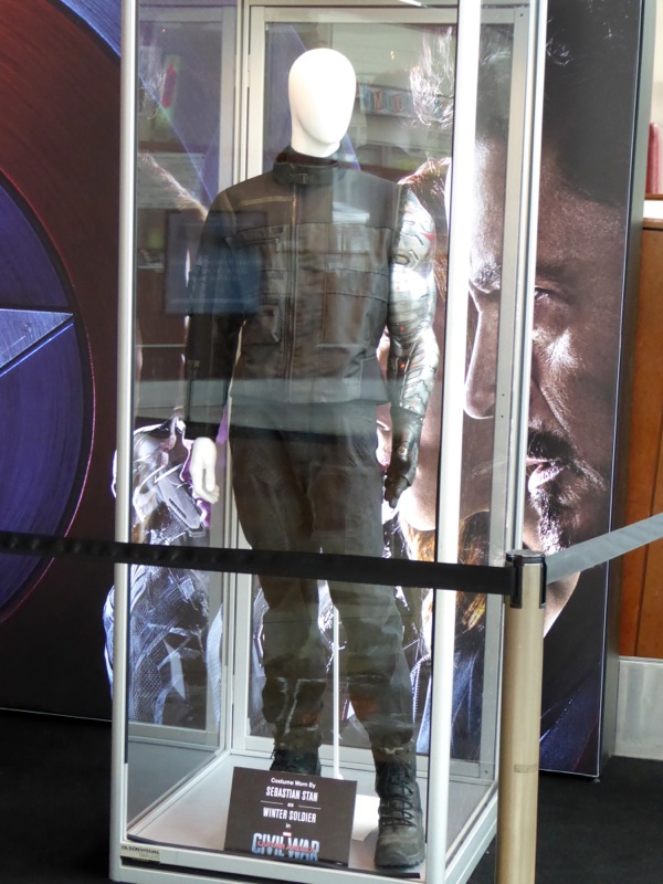 Captain America Civil War Winter Soldier film costume