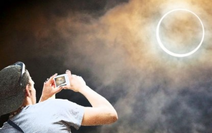 Awas! Jangan Ambil Gambar Gerhana Matahari Total Pakai Kamera HP