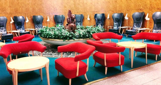Beautiful lounge in Sokos Hotel Vaakuna Helsinki