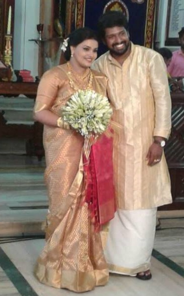 Actress Charutha Baiju married Basil Chandy | Wedding Photos