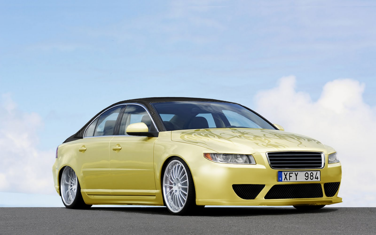 volvo s80 tuning photoshop tuning virtual tuning. Black Bedroom Furniture Sets. Home Design Ideas