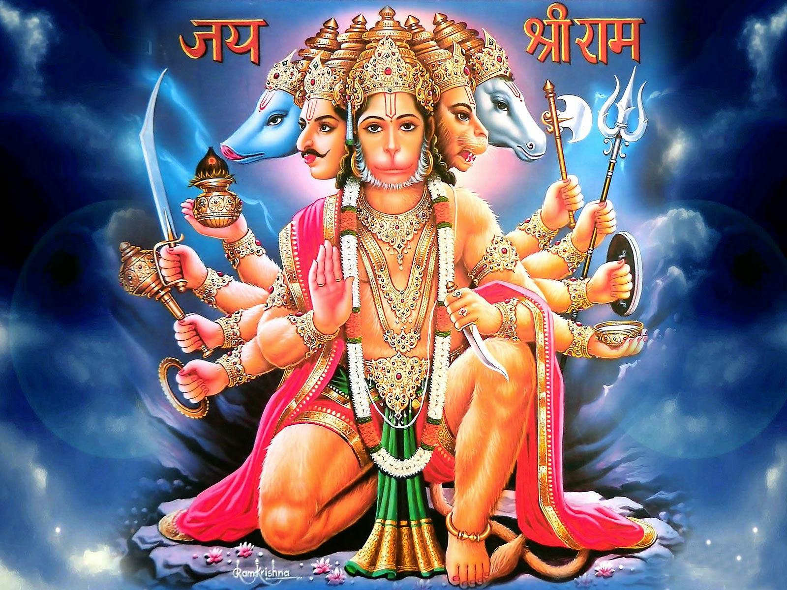 Lord Hanuman HD Wallpaper ~ Gods Paradise