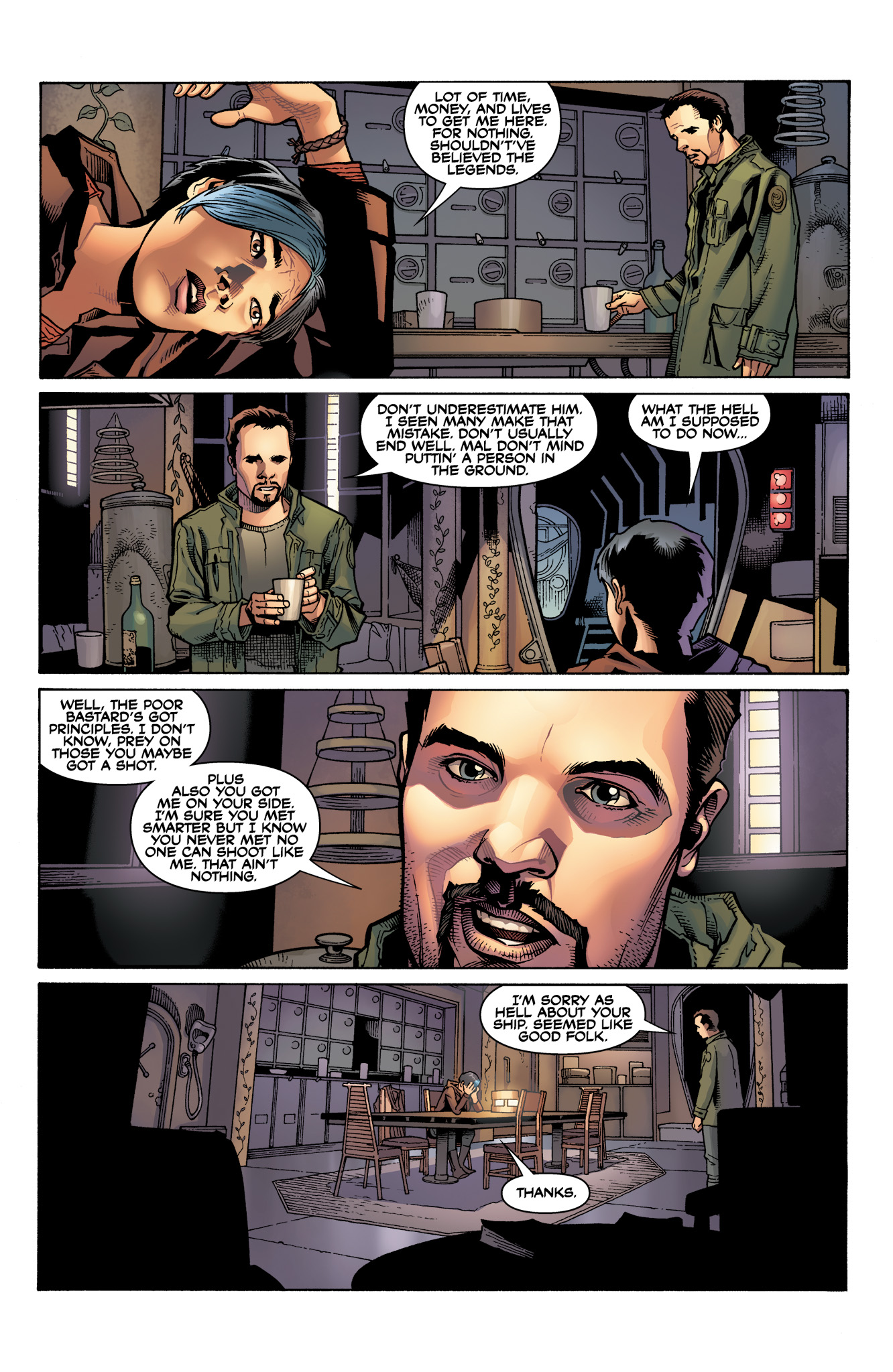 Read online Serenity: Firefly Class 03-K64  Leaves on the Wind comic -  Issue #3 - 11