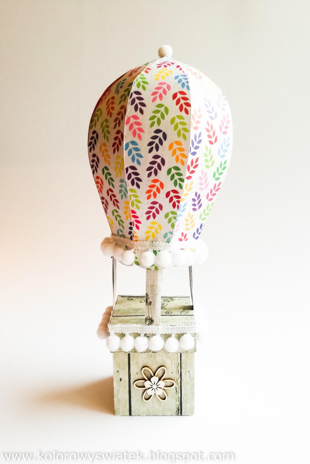 Balonowe pudełko