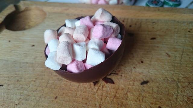 Demi-sphère en chocolat