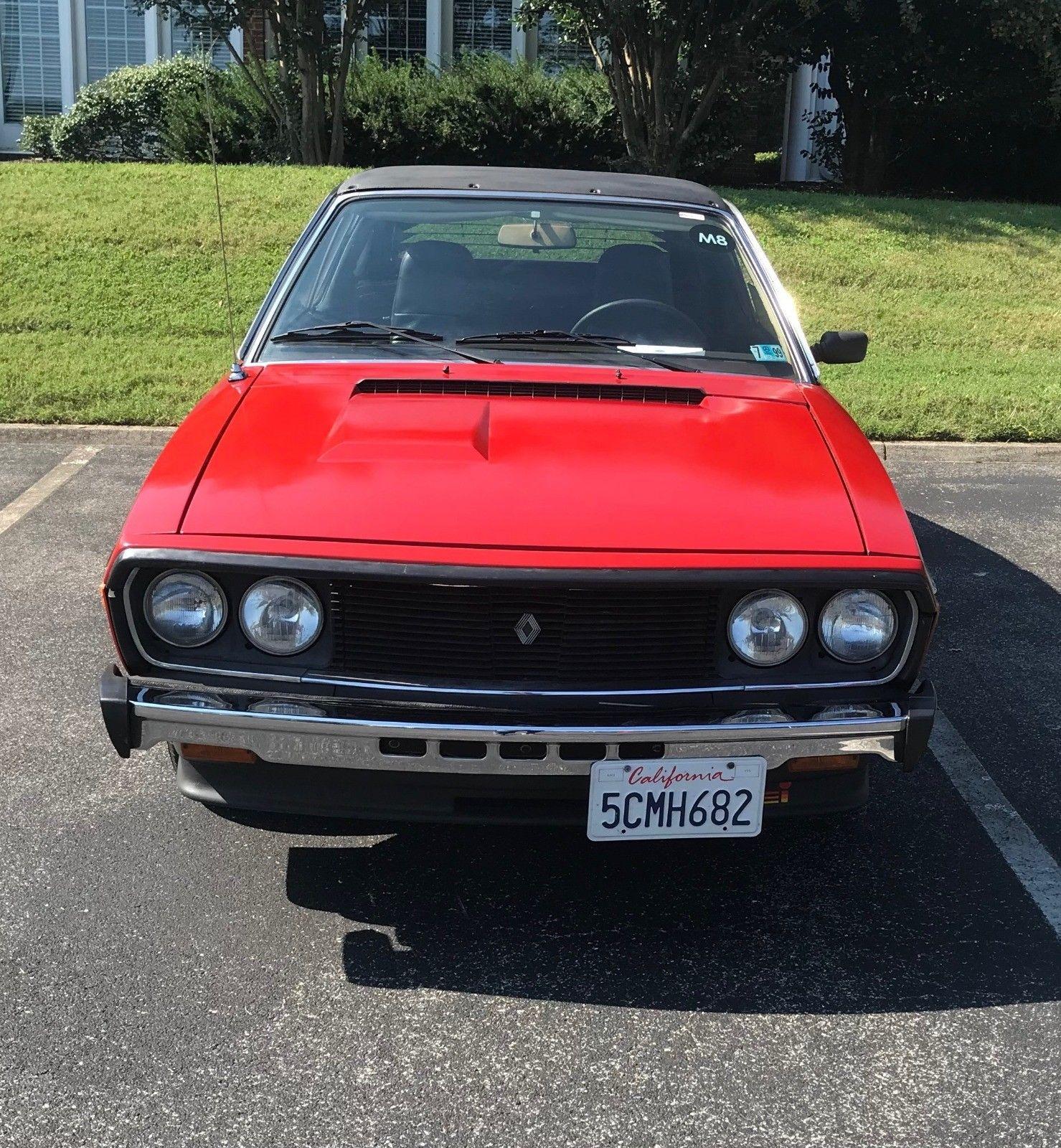 Renault Gordini: Just A Car Geek: 1978 Renault R17 Gordini