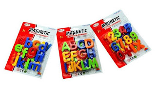 Sunshine Magnetic Learning Alphabets