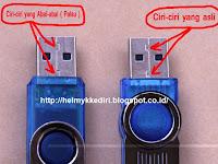 Membedakan Flashdisk Asli dengan Flashdisk Palsu