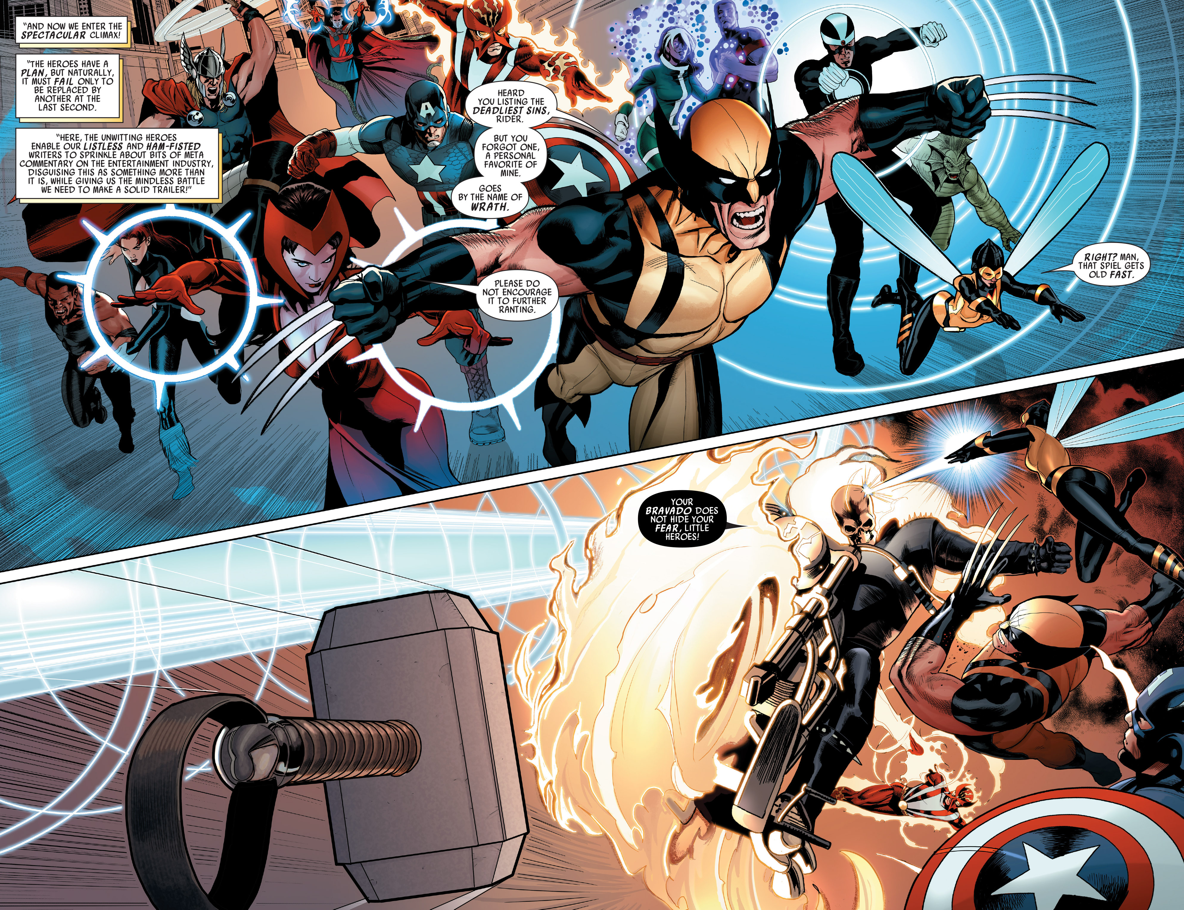 Read online Uncanny Avengers (2012) comic -  Issue # Annual 1 - 26