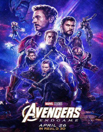 Avengers Endgame (2019) Dual Audio Hindi 720p HDRip x264 1.5GB Movie Download