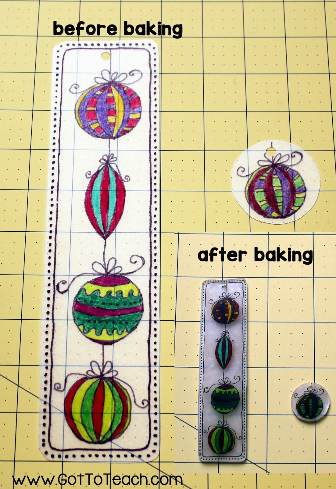 Holiday Bookmark Craft