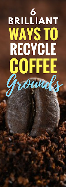 6 brilliant ways to recycle coffee grounds crafts on fire - Coffee grounds six practical ways to reuse them ...