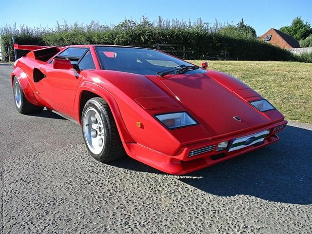 Classics For Sale Lamborghini Countach 5000 Qv By Mirage Arun Limited