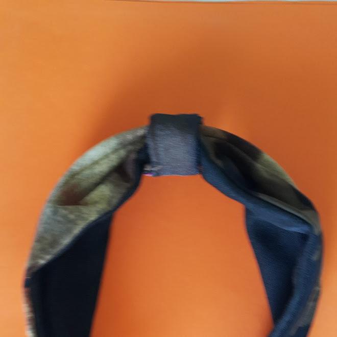 ►Tutorial: Tiara dupla face, em tecido, e no interior, um arco de plástico/Passo a Passo (PAP)