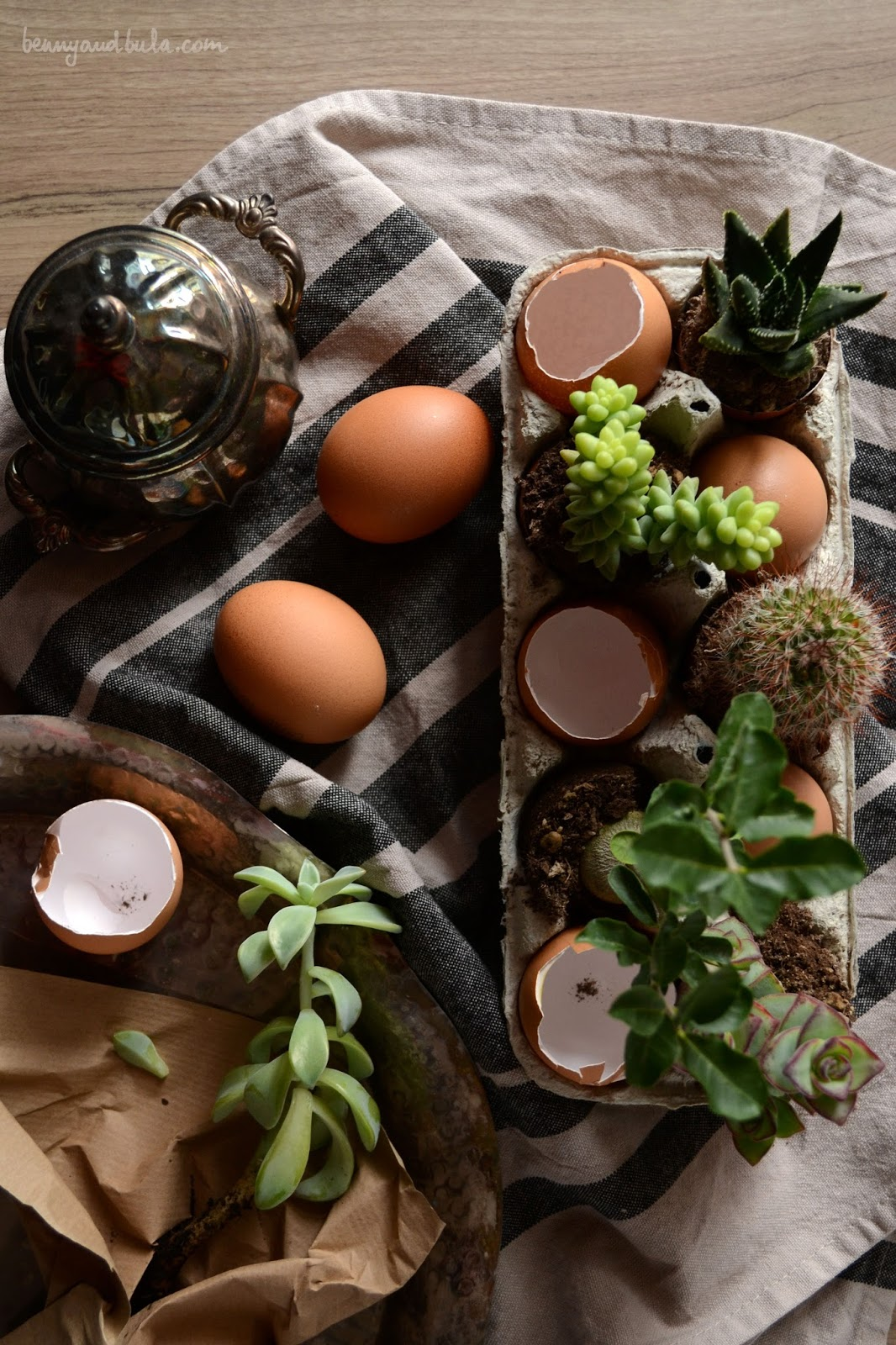 idee centrotavola di pasqua / easter table setting ideas