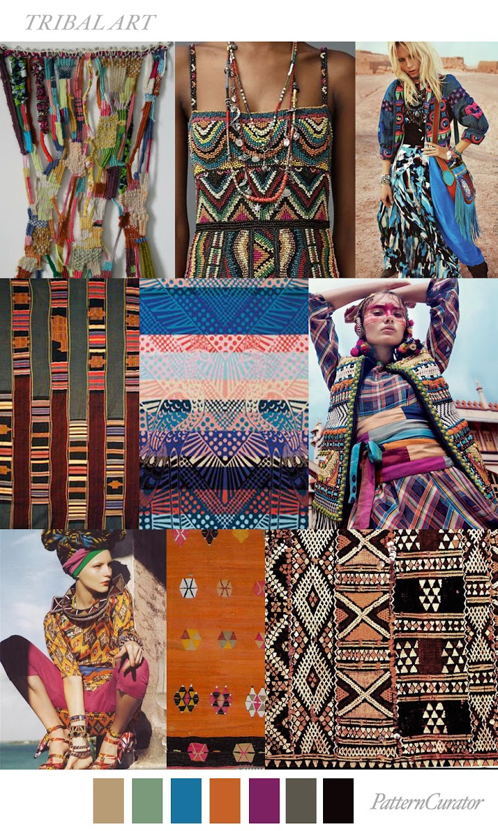 Fashion Trends Art Patterns Fabric