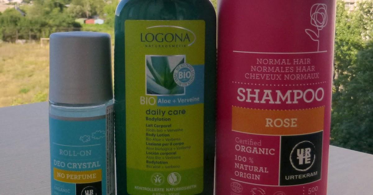 Urtekram <b>Shampoo</b> Rose, Deo Crystal & Logona Bodylotion Bio Aloe
