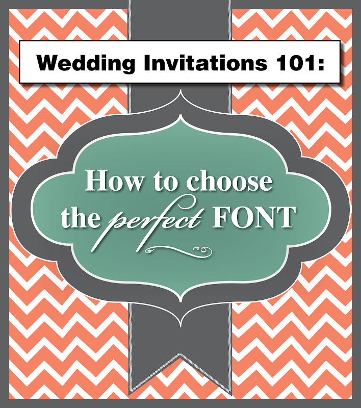 Best Fonts For Wedding Invitations: Wedding Invitation Blog: Wedding Invitations 101: How To