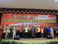 Kota Bogor Deklarasi Damai Pileg dan Pilpres 2019