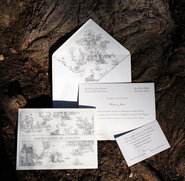 bodas elegantes tarjetas