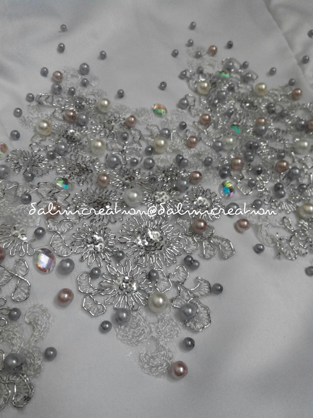 Dalini Creation~: ~ Sulaman Manik, Labuci , Kristal & Glass Pearls
