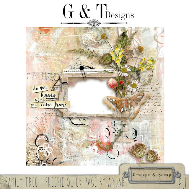 G&T Designs - Family Tree Kit & Freebie