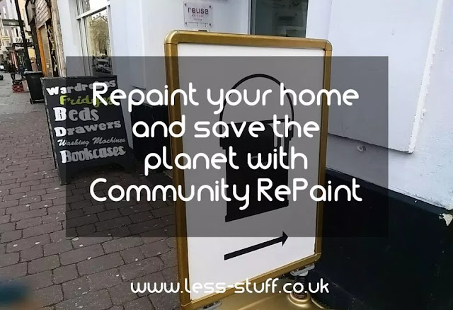 Using second hand paint to save the planet