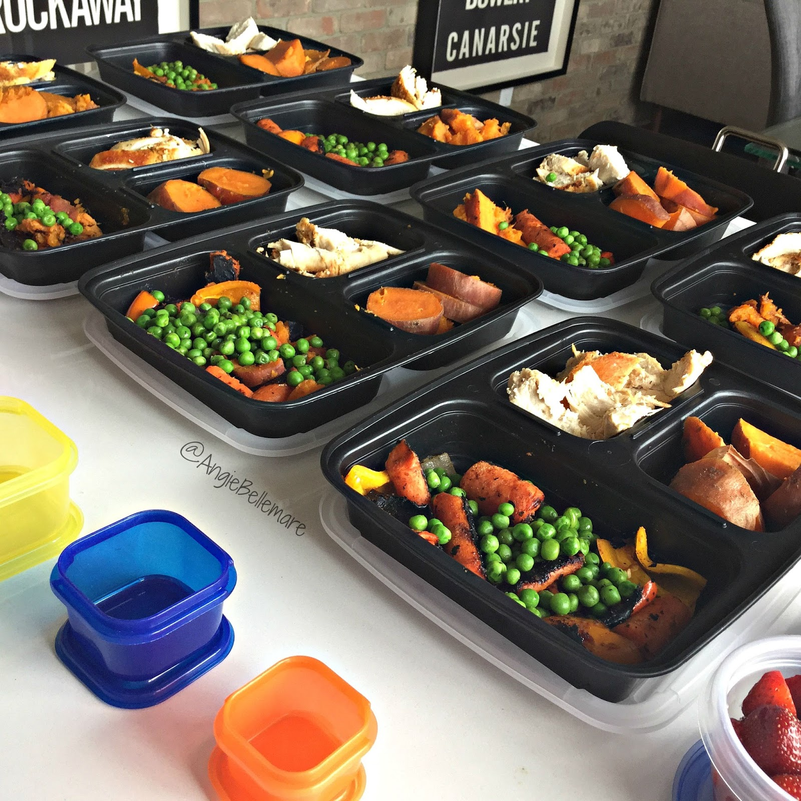 Angie Bellemare Fitness Meal Prep With The 21 Day Fix