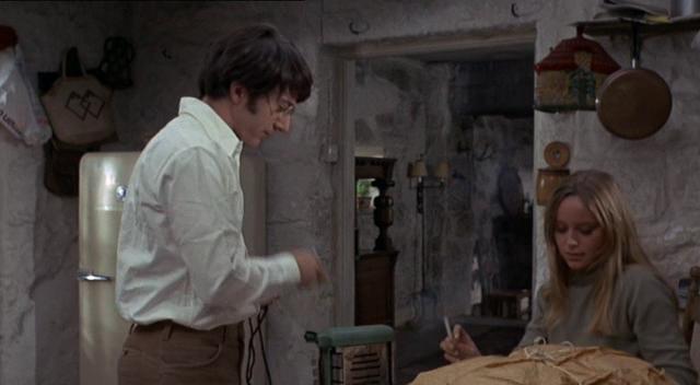 Dustin Hoffman - Susan George in Cane di Paglia