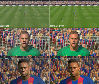 PES 2017 FMODS SweetFX Preset