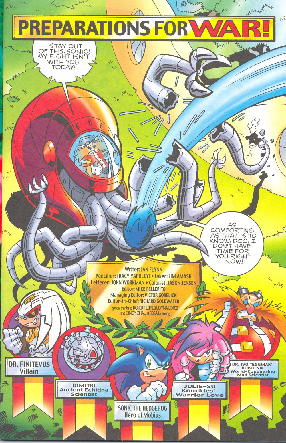 Read online Sonic The Hedgehog comic -  Issue #180 - 2