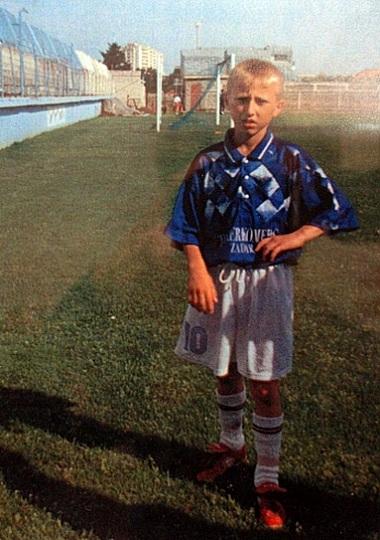 Luka Modric a 10 anni con la maglia dell' NK Zadar | Numerosette.eu