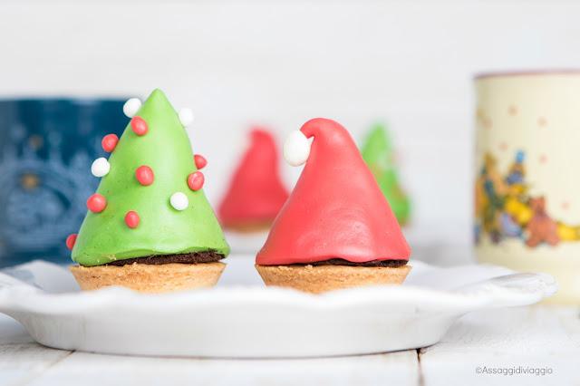 Segnaposto commestibili per la tavola di Natale