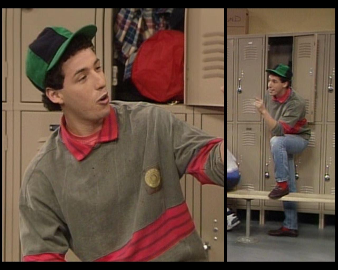 Adam Sandler Cosby Show huxtable hotness: season 4, episode 11: the locker room