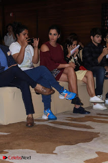 Indian Tennis Star Sania Mirza Pos in Red Short Dress at  0015.jpg