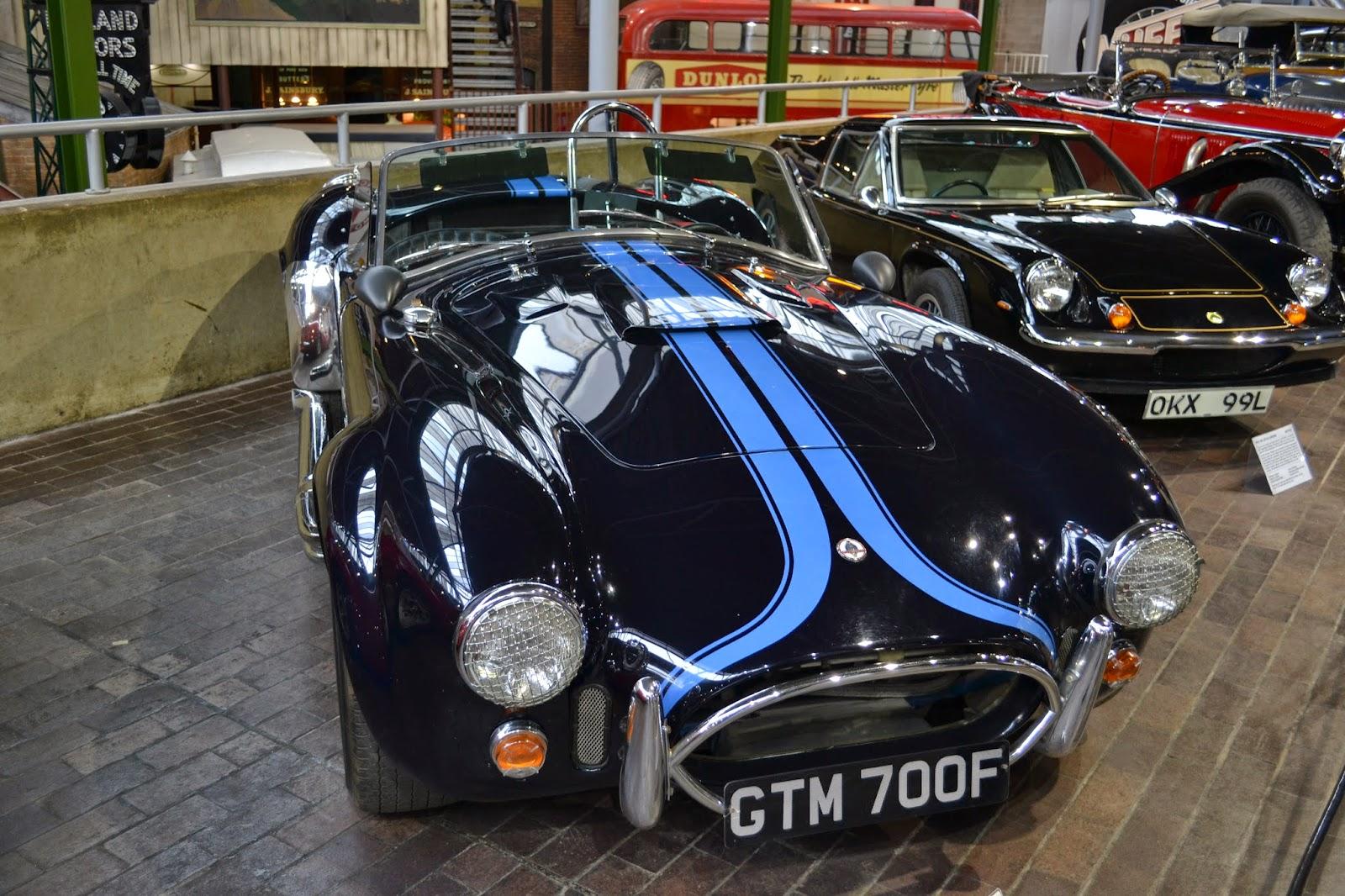 Classic car at Beaulieu National Motor Museum