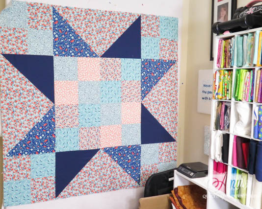 Amys Free Motion Quilting Adventures Big Block Baby
