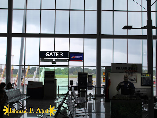 Gate 3 of Puerto Princesa International Airport
