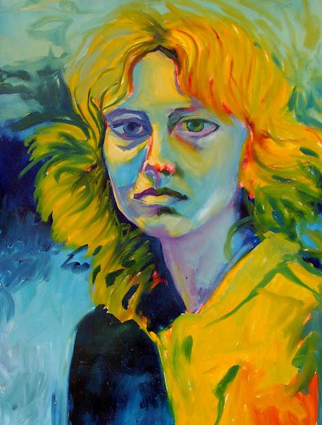 Art Adventures Of Allison Bollman Fauve Portrait